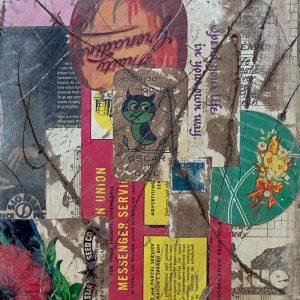 Feel That You Can't Shift | Amelia Kraemer | Mixed Media | 10x8