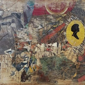 When Things Fall Into Place | Amelia Kraemer | Mixed Media | 16x20