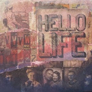 Hello Life | Amelia Kraemer | Encaustic Mixed Media | 6x6