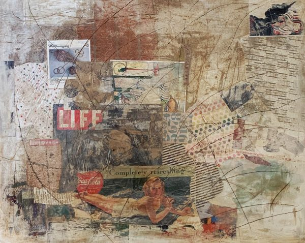 The Indescribable Moments of Your Life   Amelia Kraemer   Mixed Media   24x36