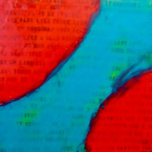Mistaken Giant | Amelia Kraemer | Encaustic | 12x12