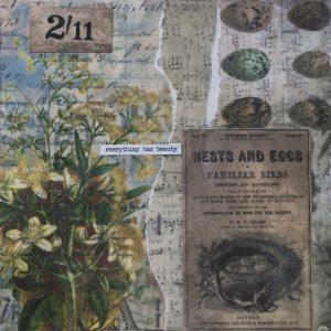 Everything Has Beauty | Amelia Kraemer | Encaustic Mixed Media