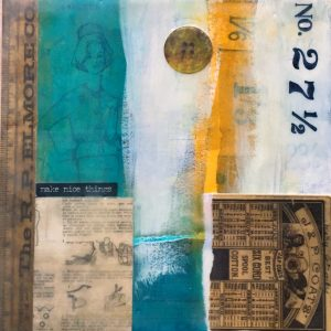Make Nice Things | Amelia Kraemer | Encaustic Mixed Media