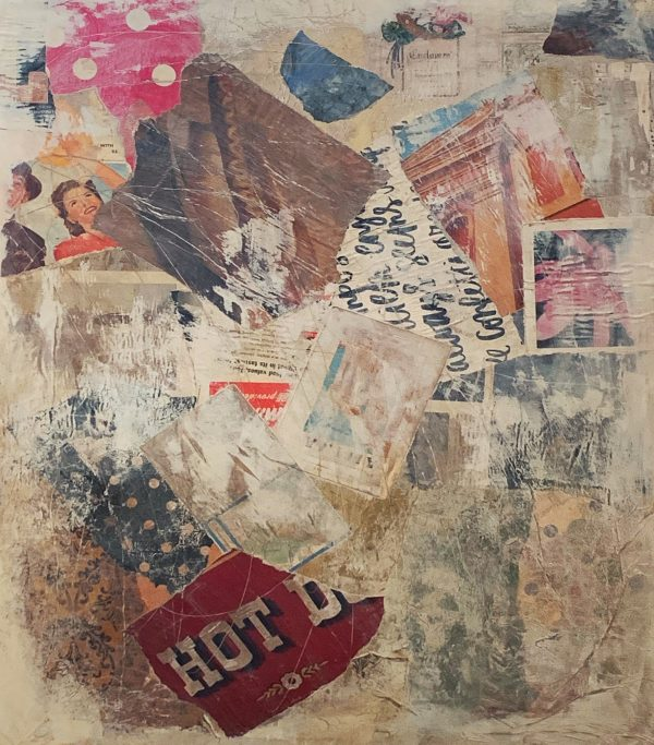 I'm Going to Leave It All Out There   Amelia Kraemer   Mixed Media   30x24