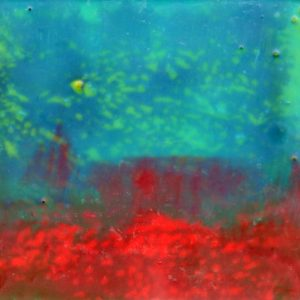 How I Long to Live Inside a Window | Amelia Kraemer | Encaustic | 4x4