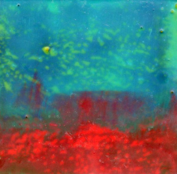 How I Long to Live Inside a Window | Amelia Kraemer | Encaustic | 4x4