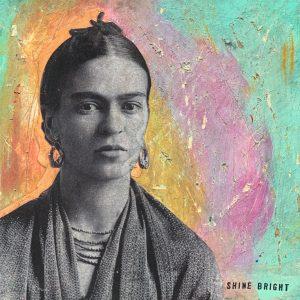 Shine Bright | Amelia Kraemer | Encaustic Mixed Media | 6x6
