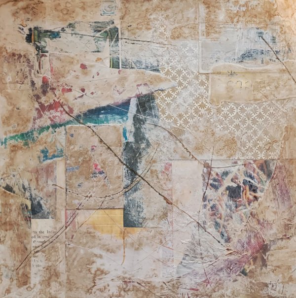 Same Room | Amelia Kraemer | Mixed Media | 8x8