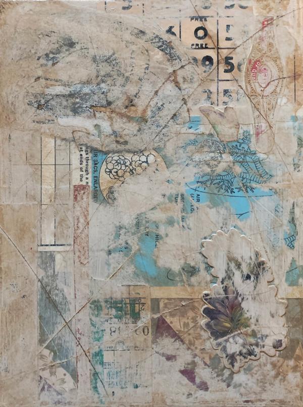 Strange Affliction | Amelia Kraemer | Mixed Media | 8x6